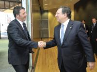 Visit of Matteo Renzi, Italian Prime Minister, to the EC