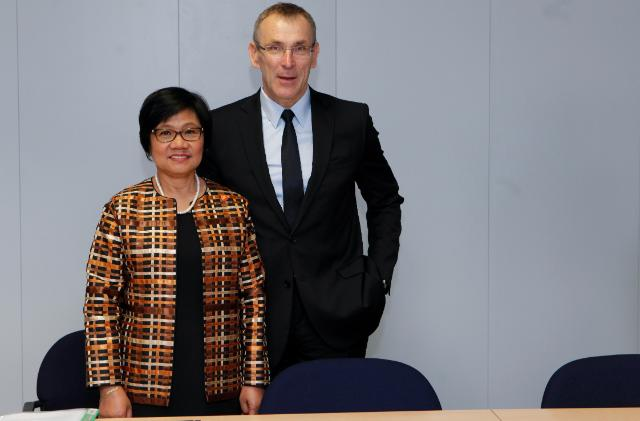 Visit of Alicia Dela Rosa Bala, Deputy Secretary General of the ASEAN for ASEAN Socio-Cultural Community, to the EC