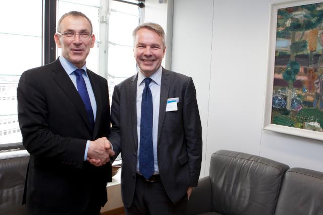 Visit of Pekka Haavisto, Finnish Minister for International Development, to the EC