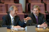 Visit of Hubert Pirker, Member of the EP, to the EC