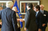Presentation of the Declaration and Call to Action 'A new Atlantic Community' to José Manuel Barroso, President of the EC