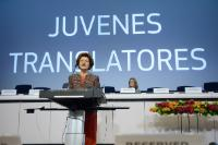 Participation of Androulla Vassiliou, Member of the EC, in the 2014 award ceremony of the Juvenes Translatores