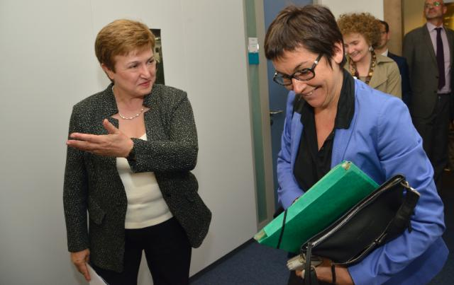 Visit of Annick Girardin, French Minister of State for Development and Francophony, to the EC
