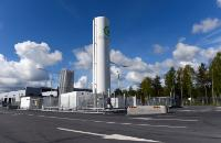 Natural Gas ‐ CNG Filling Station : Sweden