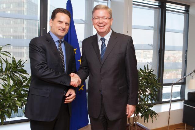 Visit of Pierre Krähenbühl, Commissioner General of UNRWA, to the EC