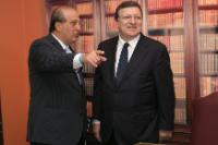 "Illustration of ""Visit of José Manuel Barroso, President of the EC, to Brazil"""