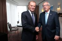 Meeting between Donald Tusk, Polish Prime Minister, and Jean-Claude Juncker, President-elect of the EC