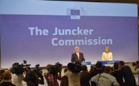 "Illustration of ""Press conference by Jean-Claude Juncker, President-elect of the EC, on the attribution of portfolios to..."