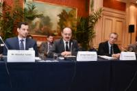 """Illustration of """"Participation of Andris Piebalgs, Member of the EC, at the meeting of the Sustainable Energy for All..."""