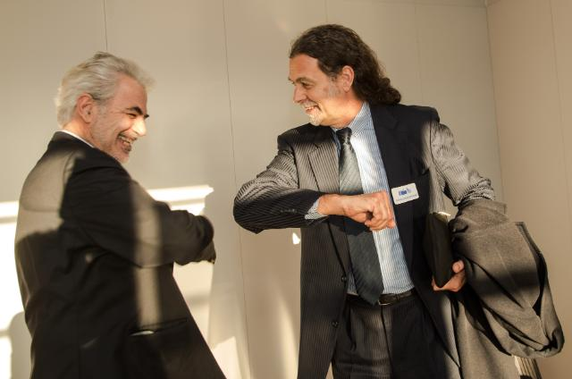 Visit of Walter Lindner, Representative of the Federal German Government for Ebola, to the EC
