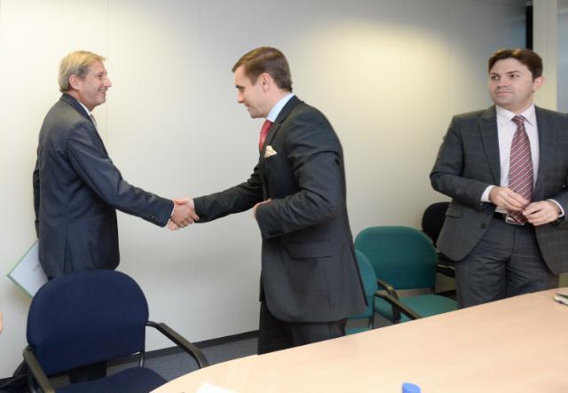 Visit of several ambassadors to the EC