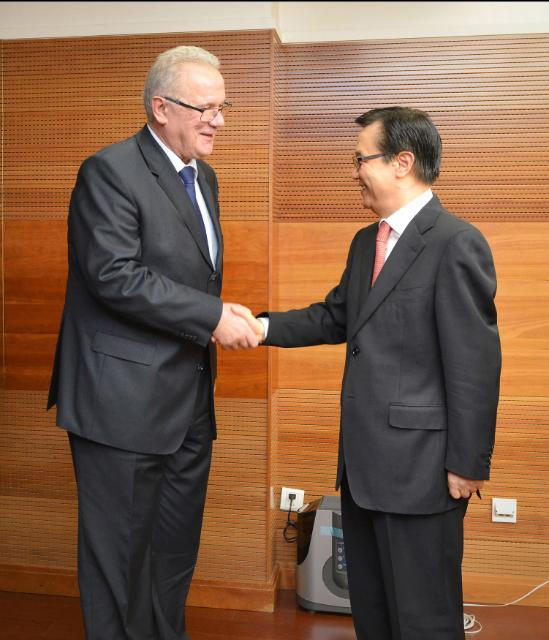 Visit of Neven Mimica, Member of the EC, to China