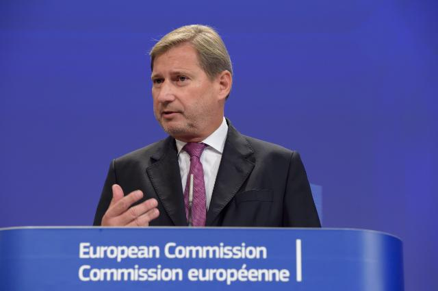 Press conference by Johannes Hahn, Member of the EC, following his visit to Ukraine on 27 and 28 November 2014