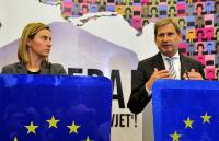 Visit of Federica Mogherini, Vice-President of the EC, and Johannes Hahn, Member of the EC, to Bosnia and Herzegovina