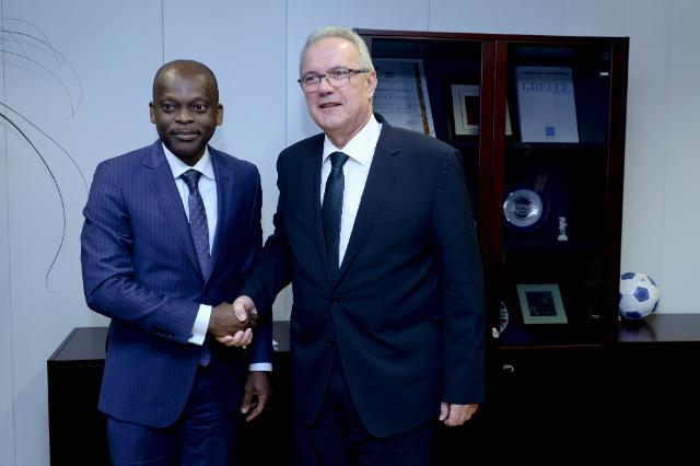 Visit of Robert Dussey, Togolese Minister for Foreign Affairs and Cooperation, to the EC