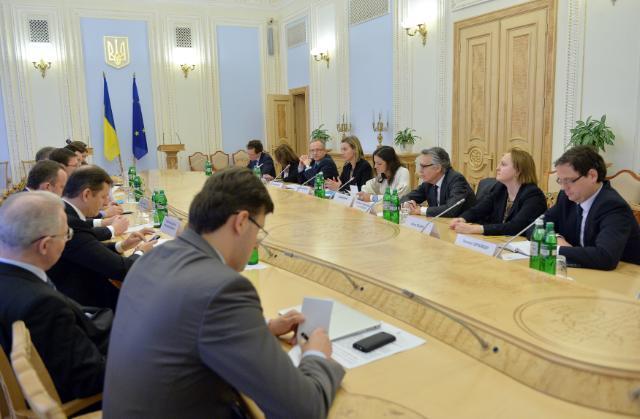 Visit of Federica Mogherini, Vice-President of the EC, to Ukraine