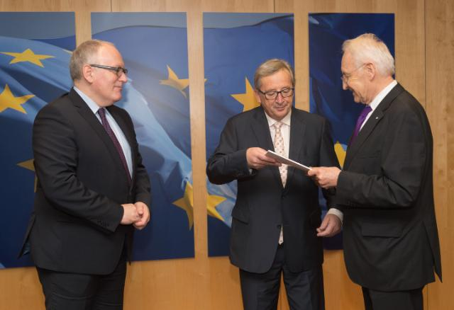Visit of Edmund Stoiber, former Chairman of the High-Level Group of Independent Stakeholders on Administrative Burdens, to the EC
