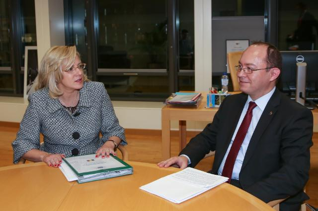 Visit of Bogdan Lucian Aurescu, Romanian Minister for Foreign Affairs, to the EC