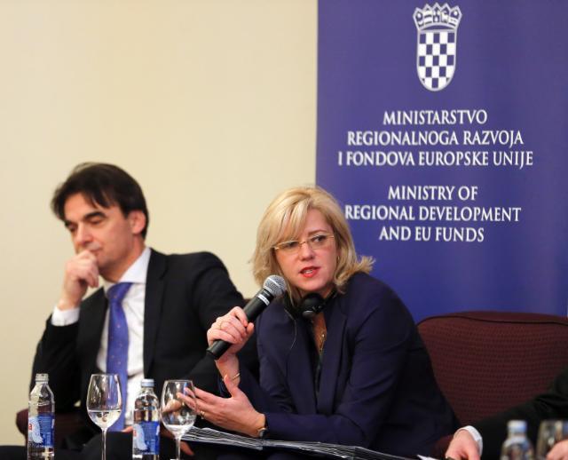 Visit by Corina Creţu to Zagreb