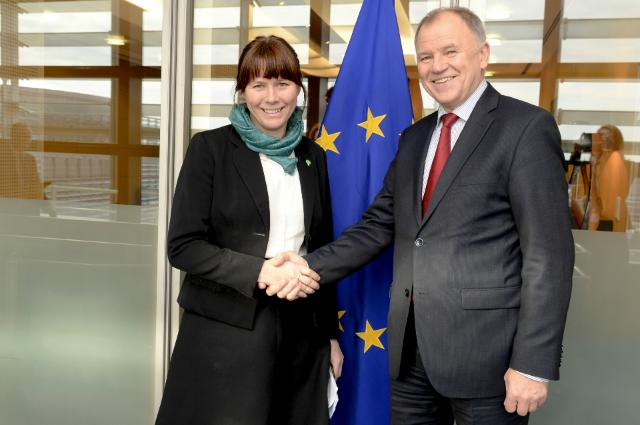 Visit of Åsa Romson, Swedish Deputy Prime Minister and Minister for Climate and the Environment, to the EC