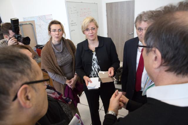 Visit by Corina Creţu, Member of the EC, to France