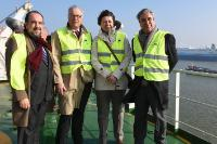 "Illustration of ""Visit of Violeta Bulc, Member of the EC, at the Port of Antwerp"""