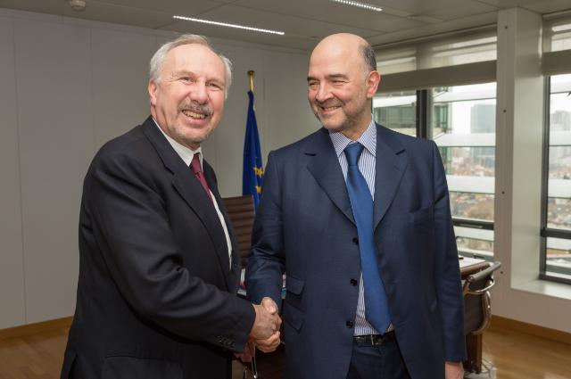 Visit of Ewald Nowotny, Governor of the National Bank of Austria and Member of the Governing Council of the ECB, to the EC