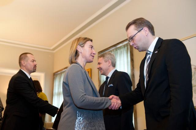 Visit by Federica Mogherini to Helsinki
