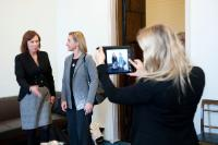 """Illustration of """"Visit of Federica Mogherini, Vice-President of the EC, to Finland"""""""