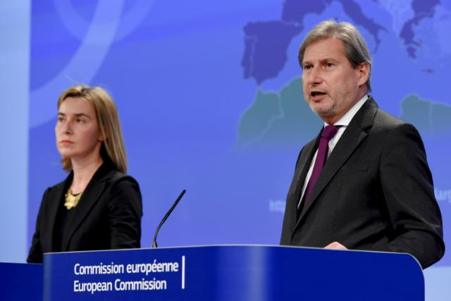 Joint press conference by Federica Mogherini, Vice-President of the EC, and Johannes Hahn, Member of the EC, on the launch of a consultation on the future of the European Neighbourhood Policy
