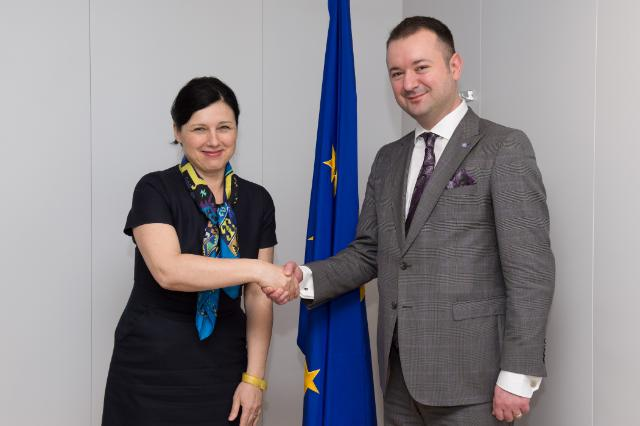 Visit of Codrin Scutaru, Romanian Secretary of State for Labour, Family and Social Protection, to the EC