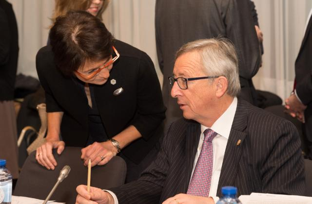 Participation of Jean-Claude Juncker, President of the EC, and Marianne Thyssen, Member of the EC, in the Tripartite Social Summit