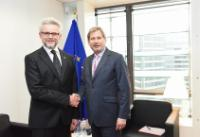 "Illustration of ""Visit of Urban Rusnák, Secretary General of the Energy Charter Secretariat, to the EC"""