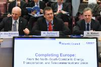 "Illustration of ""Participation of Maroš Šefčovič, Vice-President of the EC, in the presentation of the report 'Completing..."