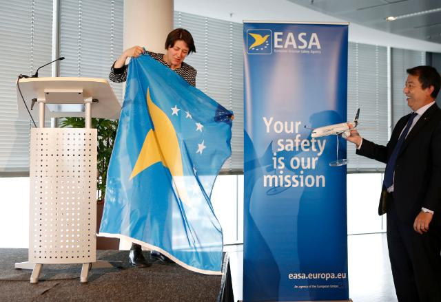 Visit of Violeta Bulc, Member of the EC, to the headquarters of the EASA in Cologne