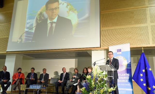 Participation de Karmenu Vella and Carlos Moedas, Members of the EC, at the 'The Atlantic, our Shared resource – Making the Vision Reality' event