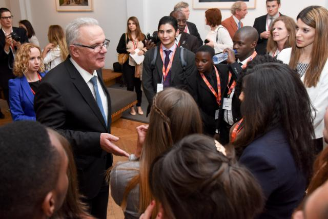 Participation of Neven Mimica, Member of the EC, and Ban Ki-moon, Secretary General of the United Nations, at the 'Our World, our Dignity, our Future - The Post 2015 Agenda and the Role of Youth' event