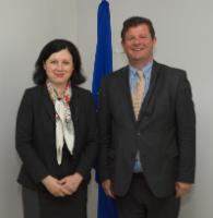 Visit of Bart Tommelein, Belgian State Secretary for the Fight against Social Fraud, Privacy and North Sea, to the EC