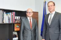 Visit to the EC of Vidar Helgesen, Norwegian Minister responsible for EEA and EU Affairs at the Ministry of Foreign Affairs and Chief of Staff at the Office of the Prime Minister