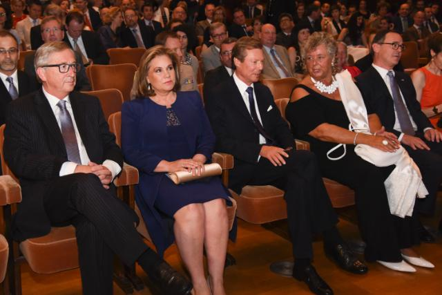 Cérémonie d'ouverture de la présidence luxembourgeoise