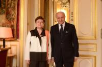 Visit by Kristalina Georgieva, Vice-President of the EC, to Paris