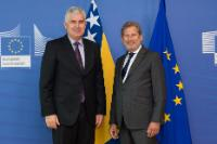 Visit of Dragan Čović, Croat Member of the Presidency of Bosnia and Herzegovina, to the EC