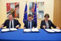 Signature of several amendments to 'InnovFin – EU Finance for Innovators' programme