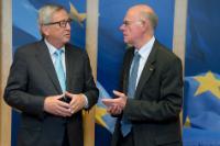 Visite de Norbert Lammert, président du Bundestag allemand, à la CE