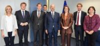 Visite des membres de la Chambre des représentants néerlandaise à la CE