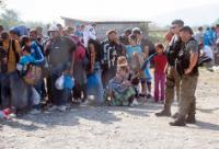 Le camp de Gevgelija, à la frontière gréco-macédonienne