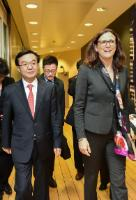 Visit of Gao Hucheng, Chinese Minister for Trade, to the EC