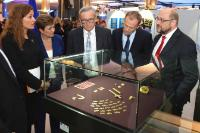 Participation of Jean-Claude Juncker, President of the EC, and Kristalina Georgieva, Vice-President of the EC, in the opening of the exhibition 'Bulgaria's golden treasures: Varna and the oldest gold in the world'