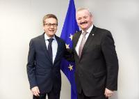 Visit of Reimund Neugebauer, President of the Fraunhofer-Gesellschaft, to the EC