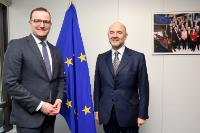 Visit of Jens Spahn, Parliamentary State Secretary at the German Federal Ministry for Finance, to the EC